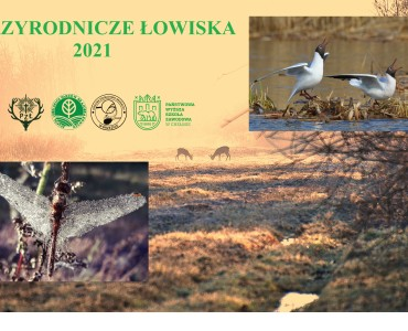 """KONKURS FOTOGRAFICZNY """"PRZYRODNICZE ŁOWISKA 2021"""""""