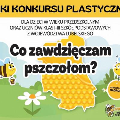 """Wyniki konkursu plastycznego """"Co zawdzięczam pszczołom?"""""""