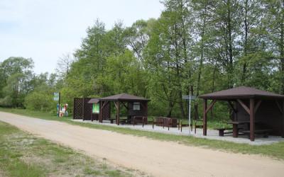 Infrastruktura Green Velo przy promie