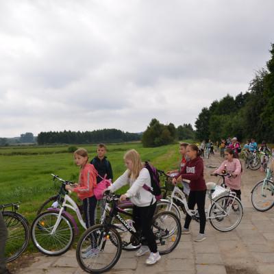 Rajd rowerowy po parku