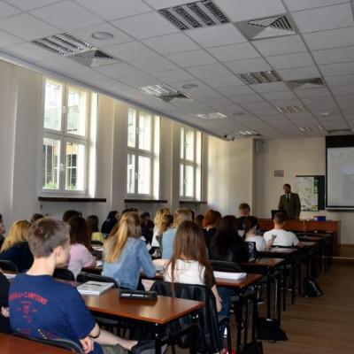 Wykład o parkach krajobrazowych na Uniwersytecie Przyrodniczym w Lublinie