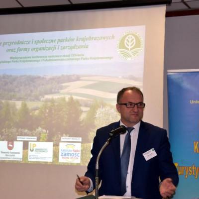 """Międzynarodowa konferencja naukowa """"Funkcje przyrodnicze i społeczne parków krajobrazowych oraz formy organizacji i zarządzania."""""""