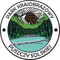 Logo: Park Krajobrazowy Puszczy Solskiej