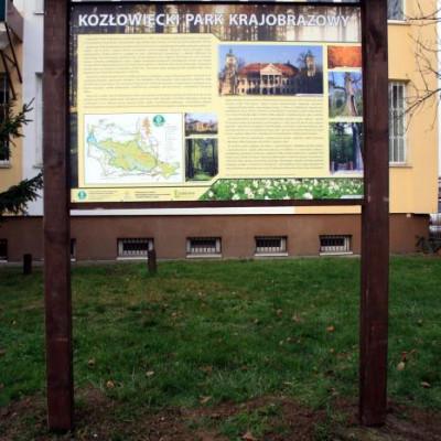Nowe tablice informacyjne w lubelskich parkach krajobrazowych