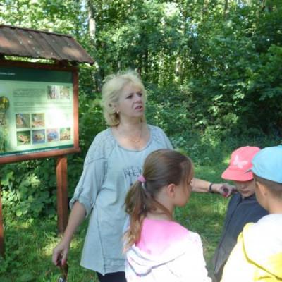 Zielona szkoła w Chełmskim Parku Krajobrazowym.