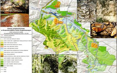 Utwory powierzchniowe w Krasnobrodzkim Parku Krajobrazowym