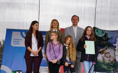 Laureacki konkursu Tańcowała igła z nitką po Krzczonowskim Parku Krajobrazowym