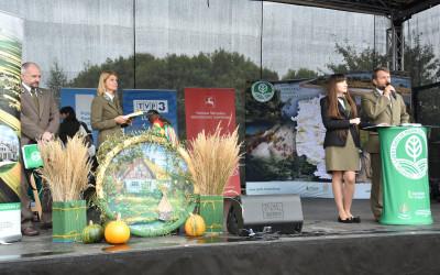 Moment ogłoszenia wyników konkursu rowerowego Tour de Lublin Landscape Parks