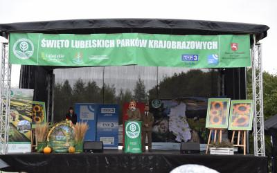 Otwarcie Święta Parków przez Panią Justynę Jedruch - Dyrektora ZLPK