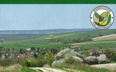 Okładka mapy przyrodniczo-turystycznej Skierbieszowskiego Parku Krajobrazowego