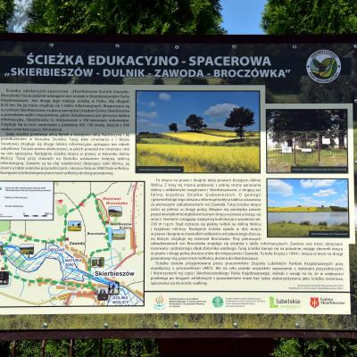 Nowa ścieżka edukacyjna w Skierbieszowskim Parku Krajobrazowym