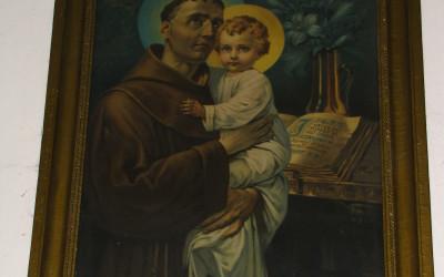 Obraz św. Antoniego przywiezony z Rzymu