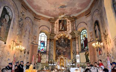 Prezbiterium kościoła p.w. Wniebowzięcia NMP w Krzczonowie