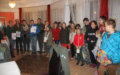 Uczestnicy konkursu wiedzy o parku