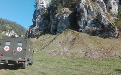 Dolina Kobylańska to jedno z ulubionych miejsc wspinaczy skałkowych