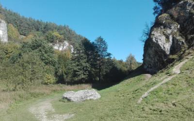 Dolina Kobylańska w pełnej krasie...