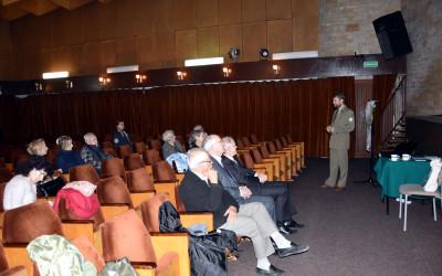 Wykład o obszarach chronionego krajobrazu w Domu Kultury LSM
