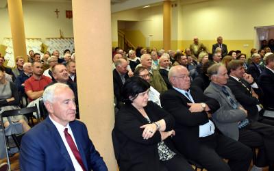Konferencja zgromadziła wielu mieszkańców Skierbieszowa i zaproszonych gości