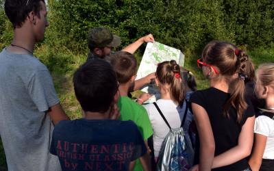 a tak wygląda nowa mapa Skierbieszowskiego Parku Krajobrazowego