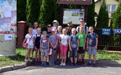 Trasa ścieżki rozpoczyna się w Skierbieszowie