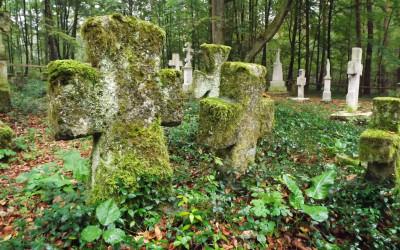 Cmentarz w Starym Bruśnie, fot. Małgorzata Grabek