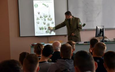 Prezentacja o parkach krajobrazowych Lubelszczyzny w ZS w Ostrowie Lubelskim