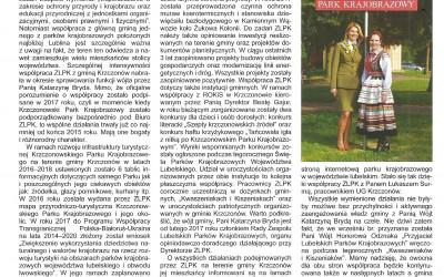 artykuł o współpracy ZLPK i Gminy Krzczonów