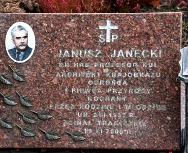 W 10 rocznicę śmierci prof. Janusza Janeckiego