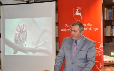 Przemawia prof Grzegorz Grzywaczewski - Zastępca Prezesa Zarządu WFOŚiGW