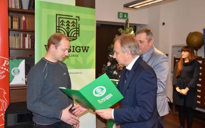 Główną nagrodę w kategorii Film zdobył Pan Marcin Najdzioński