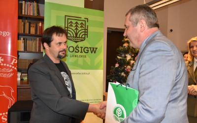Rafał Siek przyjmuje zasłużone gratulacje