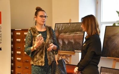 Pani Anna Mochniej - Dyrektor Departamentu Promocji i Turystyki