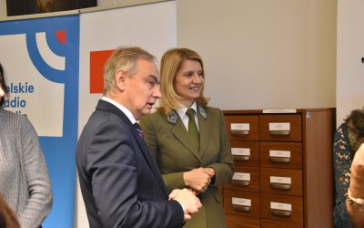 Pan Andrzej Miskur - Dyrektor Departamentu Kultury, Edukacji i Sportu