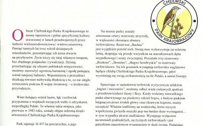 ... o Chełmskim Parku Krajobrazowym