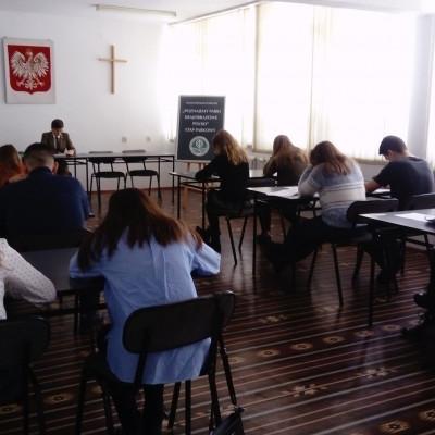 """Etap parkowy ogólnopolskiego konkursu """"Poznajemy Parki Krajobrazowe Polski"""" w Zamościu"""