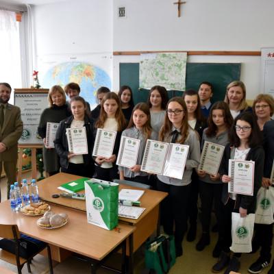 Etap parkowy konkursu Poznajemy Parku Krajobrazowe Polski w Skierbieszowie
