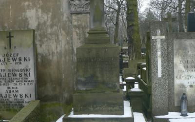 grób Władysława Taczanowskiego
