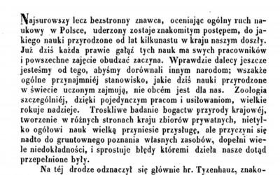 Spis ptaków guberni lubelskiej - strona tytułowa