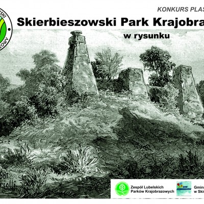 Skierbieszowski Park Krajobrazowy w rysunku