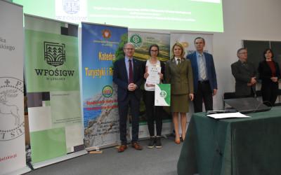 Laureatka etapu okręgowego XXXIV OWE – Aleksandra Antoniak z I Liceum Ogólnokształcącego w Lublinie