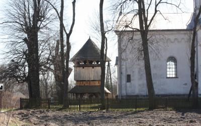 Dzwonnica przy cerkwi w Kniaziach wpisana do rejestru zabytków