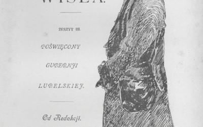 Okładka Wisły 1902 r.