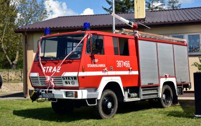 Nowy samochód strażacki dla OSP w Stanisławce