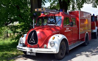 Ponad półwieczny wóz strażacki Magirus-Deutz