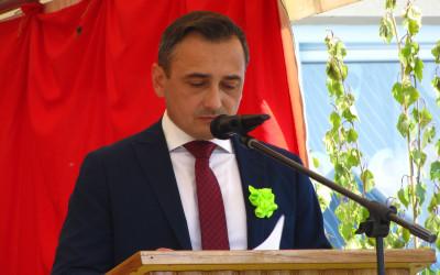 Wójt Gminy Sitno Krzysztof Seń