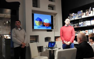 Prezentacja Marka Marcoli w Księgarni Leśmianowskiej