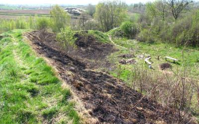 Gród Sutiejsk - obecnie wieś Sąsiadka (fot. K. Wojciechowski)