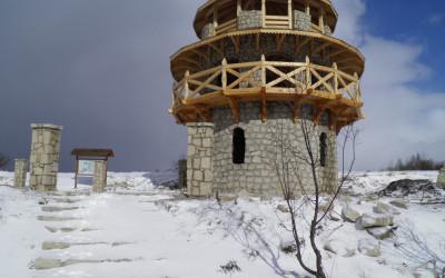 Wieża widokowa przy Kamieniołomie fot. K. Kowalczuk