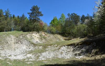Wyrobisko w Kamiennym Wąwozie fot. K. Wojciechowski