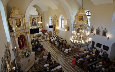 1. Msza Święta w Kościele pw. Wniebowzięcia NMP w Skierbieszowie